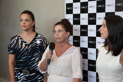 Executivos da CASA COR ALAGOAS, Ellen Alcantara, Glaucia Medeiros e Rebeca Ximenes (foto por Gian Gadotti)