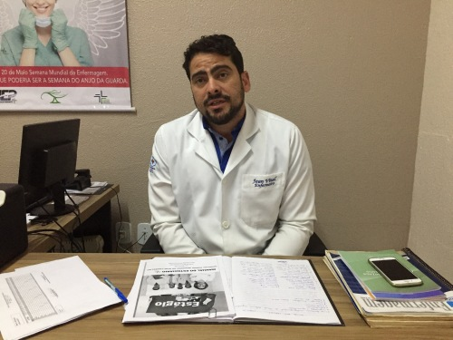 Jean Marinho Vital, coordenador do NEP