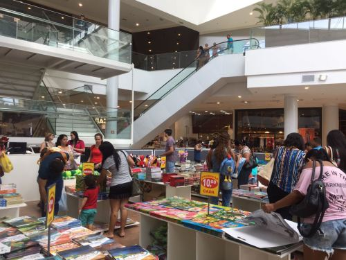 Feira de Livros - Shopping Patio Maceio