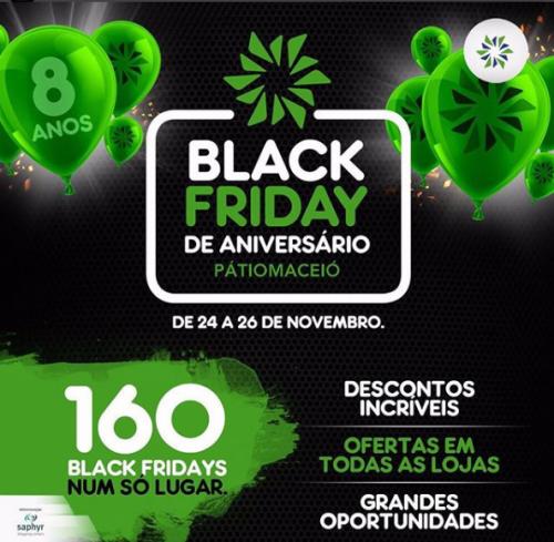 Black Friday - Shopping Patio Maceio