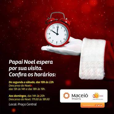 Maceió Shopping é parceiro dos Correios na Campanha do Papai Noel