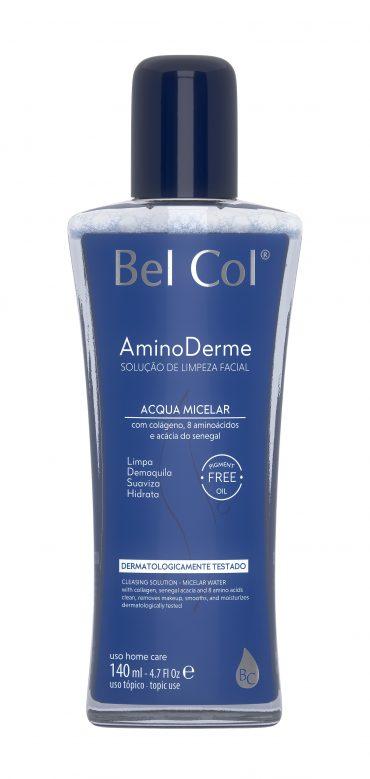 Bel Col lança a linha Aminoderme para peles que necessitam de hidratação intensiva diária.