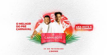 Confira a programação oficial do Camarote Palato no pré-carnaval