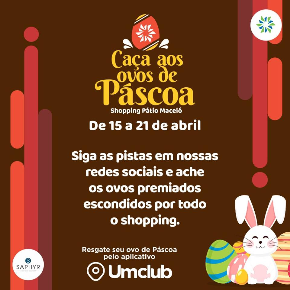 PÁSCOA NO PATIO SHOPPING